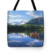 Alaskan Kayaker Tote Bag