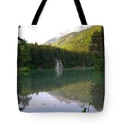 Alaskan Lake Tote Bag