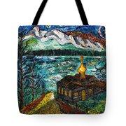 Alaskan Orthodox Church Tote Bag