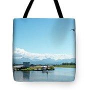 Alaskan Seaplane Base Tote Bag