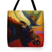 Alaskan Spirit - Moose Tote Bag