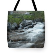 Alaskan Stream Tote Bag