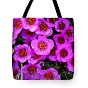 Alaskan Wild Flowers Tote Bag