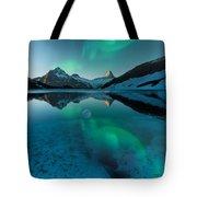 Alaskan Winter Night By Adam Asar 2 Tote Bag