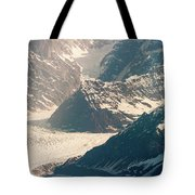 Alasks Glacier Range Denali Nation Park  Tote Bag
