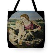 Alba Madonna Tote Bag