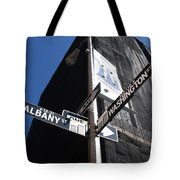 Albany And Washington Tote Bag