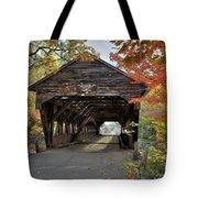 Albany Covered Bridge Tote Bag