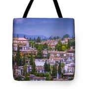 Albayzin View Granada Tote Bag