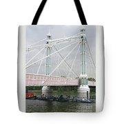 Albert Bridge Tote Bag