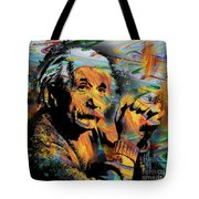 Albert Einstein - By Prar Tote Bag