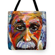 Albert Einstein Genius Tote Bag