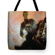 Albert I King Of The Belgians In The First World War Tote Bag by Ilya Efimovich Repin
