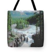Alberta Island Torrent Tote Bag