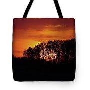 Alberta Sunset Tote Bag