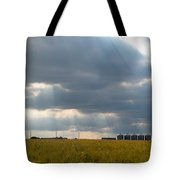 Alberta Wheat Field Tote Bag by Stuart Turnbull