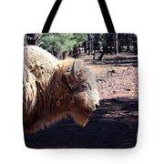 White Bison Tote Bag