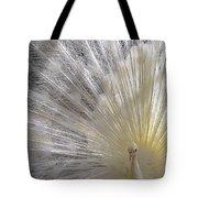 A Leucistic Peacock Tote Bag