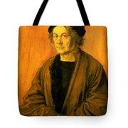 Albrecht Durer Father 1497 Tote Bag