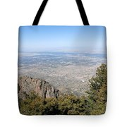 Albuquerque And The Rio Grande Tote Bag