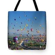 Albuquerque Balloon Fiesta Tote Bag