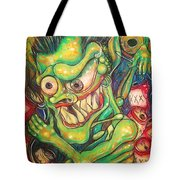 Alcoholic Demon Tote Bag