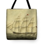 Alcono Sailing Vessel Tote Bag