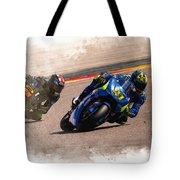 Aleix Espargaro Team Suzuki Ecstar Tote Bag