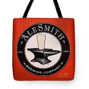 Alesmith Sign, Newport R. I. Tote Bag