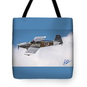 Alex Alverez Friday Morning At Reno Air Race Signature Edition 16x9 Aspect Tote Bag