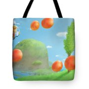 Alex Kidd In Miracle World Tote Bag