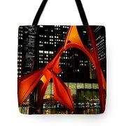 Alexander Calder's Flamingo Tote Bag