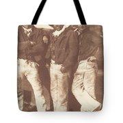 Alexander Rutherford, William Ramsay And John Linton Tote Bag