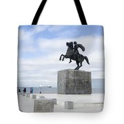 Alexander The Great, Thessaloniki, Greece Tote Bag
