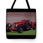 Alfa Romeo 8c 2900a Botticella Spider 1936 Painting Tote Bag