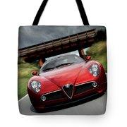 Alfa Romeo 8c Competizione Tote Bag