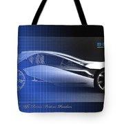 Alfa Romeo Bertone Pandion Concept Tote Bag