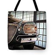 Alfa Romeo In Black Tote Bag