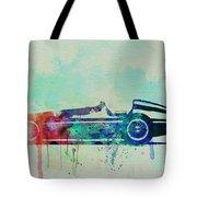 Alfa Romeo Tipo Watercolor Tote Bag by Naxart Studio
