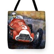 Alfa Romeo158 British Gp 1950 Luigi Fagioli Tote Bag