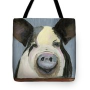 Alfred The Boar Tote Bag