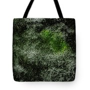 Algae Underneath Frozen Water Tote Bag