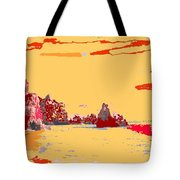 Algarve Sunrise Tote Bag