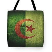 Algeria Distressed Flag Dehner Tote Bag