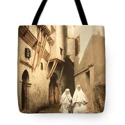 Algeria: Street Scene, C1899 Tote Bag