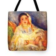 Algerian Woman Seated 1882 Tote Bag