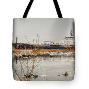Algoma Hansa Blue Water River Walk Tote Bag