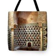 Alhambra Palace Baths Tote Bag