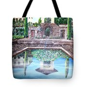 Alhambra Spain Reflections Tote Bag