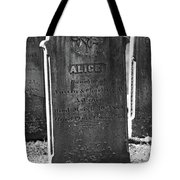 Alice Adams Tote Bag